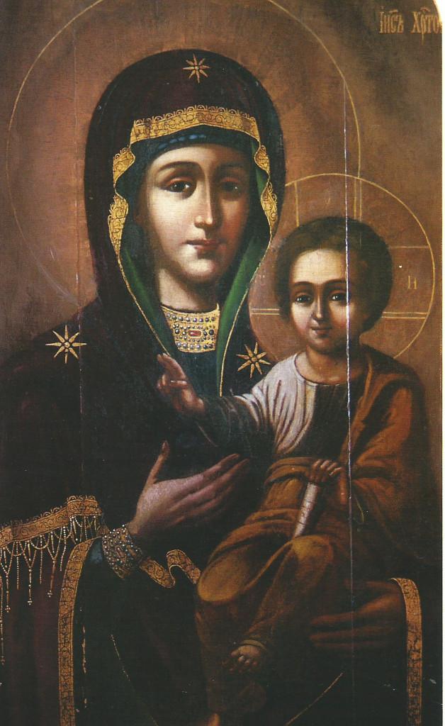 Смоленская икона Божией Матери, именуемая «Одигитрия» (Путеводительница)